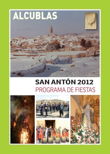Calendario 2012 - Alcublas