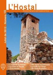 Juliol de 2012 Número 10 - Ajuntament dels Hostalets de Pierola