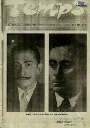 XRONIQUES i COMENTARIS D'ACTÜALITAT OCTUBRE DE 1948