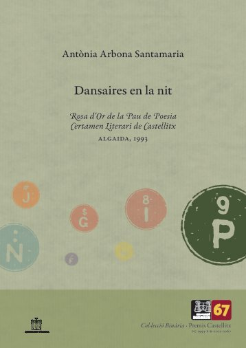 Premis Castellitx / Poesia Dansaires en la nit Rosa d'Or ... - Zheta