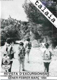 revista d'excursio - Biblioteca del Centre Excursionista de Catalunya