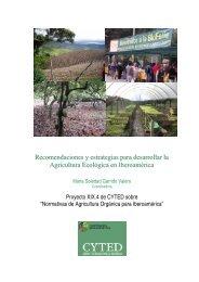 Recomendaciones y estrategias para desarrollar la Agricultura ...