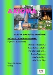 Planta de producció d'acetaldehid - Recercat