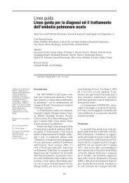 Linee guida per la diagnosi ed il trattamento dell'embolia ... - Anmco