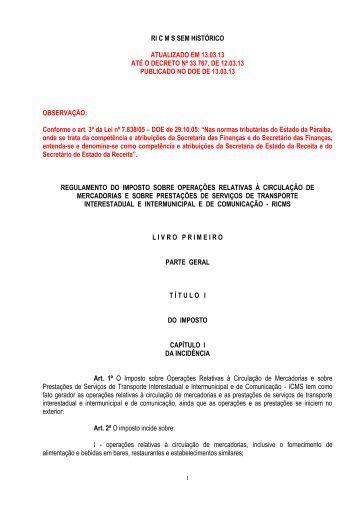 ATUALIZADO EM 13 - Governo da Paraíba