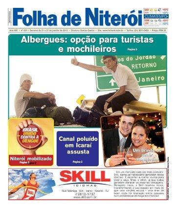 Albergues: opção para turistas e mochileiros ... - Folha de Niterói