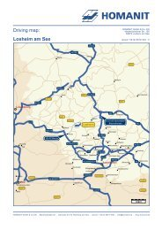 Driving map: Losheim am See