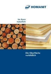HDF/MDF HOMADUR® Holzfaserplatten - Homanit Werk