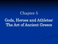 Chapter 5 Gods, Heroes and Athletes: The Art of Ancient Greece