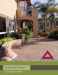 Residential Catalog - ALL Masonry & Landscape Supply
