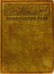 Donnybrook Fair 1916 - Goucher College