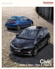 Zubehör-Broschüre Civic (PDF, 2,58 MB)