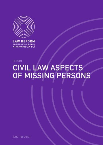 report - Law Reform Commission