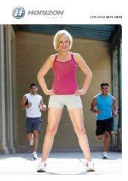 Catalogue 2011 / 2012 - Horizon Fitness
