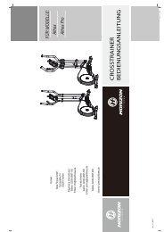 Aufbau- Bedienungsanleitung Athos Serie - Horizon Fitness
