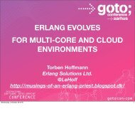 ERLANG EVOLVES FOR MULTI-CORE AND CLOUD ...