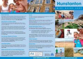 Hunstanton Mini Guide - Visit West Norfolk