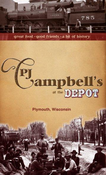 Appetizers - PJ Campbells at The Depot