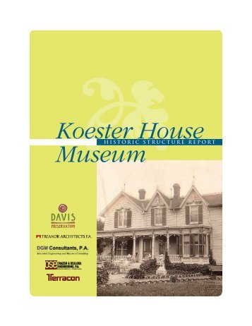 Koester House Museum - City of Marysville