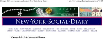 Chicago, DC, LA, Monaco, & Houston | New York Social Diary