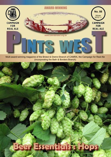 Beer Essentials : Hops - Bristol & District CAMRA