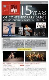of conteMporary dance - Danse Danse