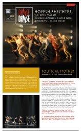 Press release - Danse Danse