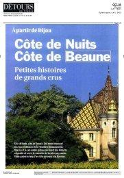 Détours en France [pdf] - Domaine Cécile Tremblay