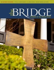 BRIDGING THENETWORK - Academy of the Sacred Heart