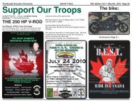 Support Our Troops - Belt Drive Betty
