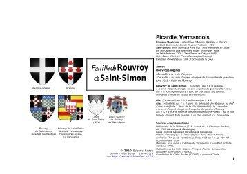 Rouvroy & Saint-Simon - Racines & Histoire - Free