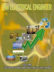The Electrical Engineer - Institute of Integrated Electrical Engineers ...