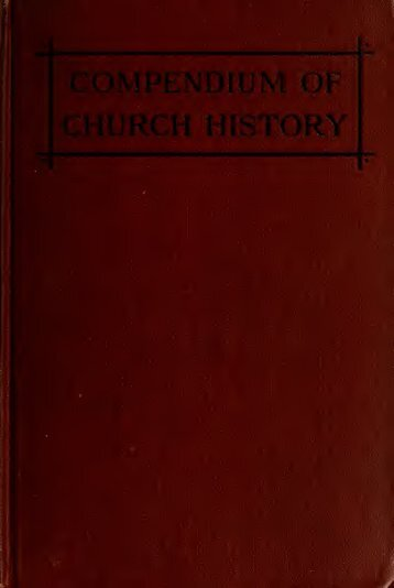Compendium of church history