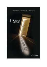 Download Opening Extract for book Quest, Inc.1 - Justin Cohen