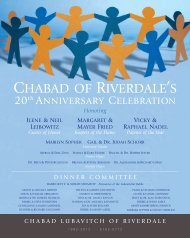 CHABAD OF RIVERDALE'S - Pro-Found Software, Inc.