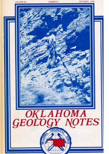 OCTOBER 1976 NUMBER 5 VOLUME 36 - Oklahoma Geological ...