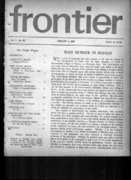 Click open Issue No.39 - Frontier Weekly