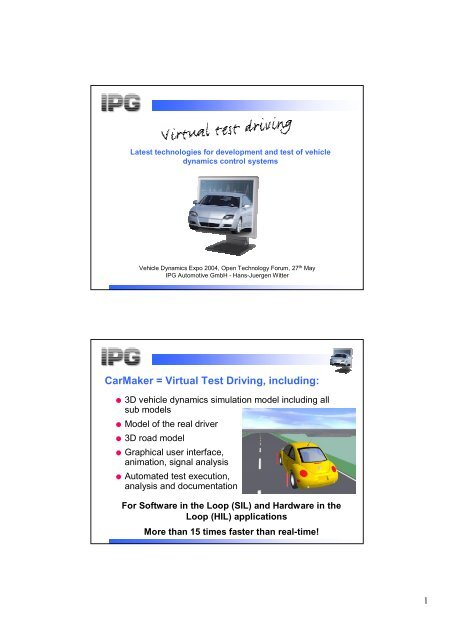 Ipg carmaker free download