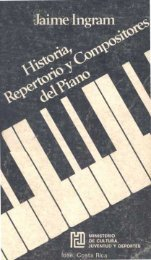 Historia, repertorio y compositores de piano - Biblioteca Virtual El ...