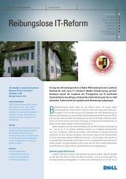 Konsolidierung durch Virtualisierung, Landratsamt ... - abakus it AG