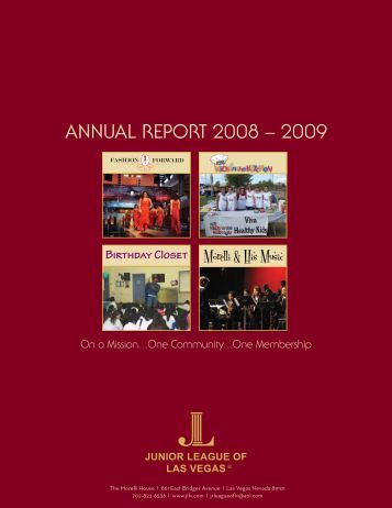 ANNUAL REPORT 2008 – 2009 - Jlweb.org