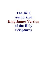 King James Version of the Holy Scriptures - The Herald