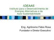 Fabio Rosa - IDEAAS - Renove