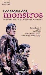 Pedagogia dos monstros - Apresentação