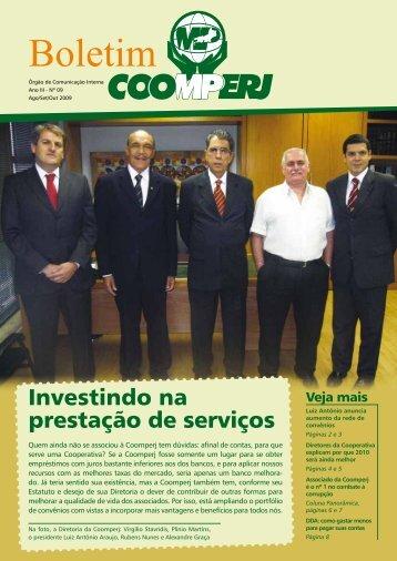 Investindo na prestação de serviços - Coomperj