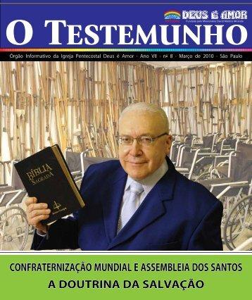 Confraternização Mundial e asseMbleia dos santos a doutrina da ...