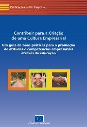 Contribuir para a Criação de uma Cultura Empresarial