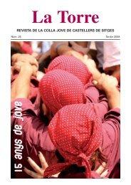 revista de la colla jove de castellers de sitges - Hydra Media