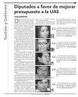 Edición impresa - Dirección de Comunicación Social UAS - Page 3