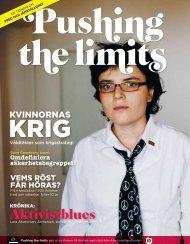 Pushing the Limits tidningen - Kvinna till Kvinna